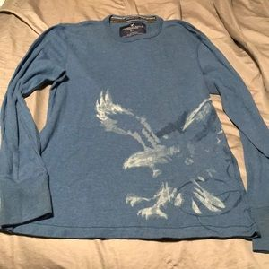 American Eagle Mens long sleeve ribbed tee